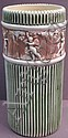ROSEVILLE POTTERY UMBRELLA STAND. Donatello. 21