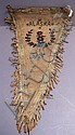 GOOD OLD ALASKAN INDIAN BEADED APRON. Early 20th