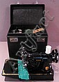 SINGER PORTABLE SEWING MACHINE. In box. With