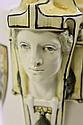 ART DECO AUSTRIAN ART POTTERY VASE. Greco-Roman