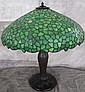 SEMMER-PITTSBURGH LEADED GLASS LAMP. Ca. 1920.