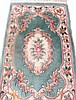 CHINESE AUBUSSON STYLE ORIENTAL RUG. Approx. 2'6