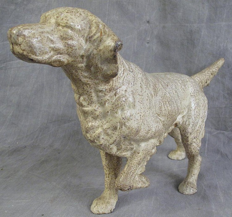 AMERICAN CAST IRON IRISH SETTER DOORSTOP. 15