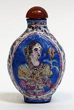 18th Century Enamel Snuff Bottle