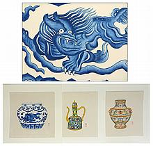 Watercolor Paintings Of Porcelain