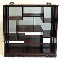 Fine Rosewood Display Shelf