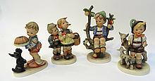 Five Hummel Figurines