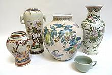 Assorted Ceramics And Porcelain.