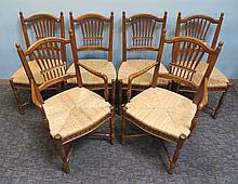 Six French Provincial Chairs