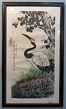 Watercolor And Ink Scroll Att. Tong Yuan