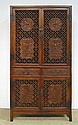 Chinese Huanghuali Carved Cabinet