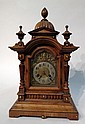 Victorian Mantel Clock By Jughans