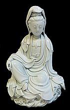 Blanc De Chine Quanyin Figure