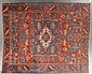 Antique Herez carpet, approx. 9.7 x 11.6