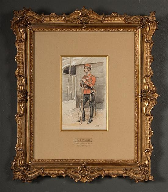 Edouard Jean Baptiste Detaille, French, 1848-1912,