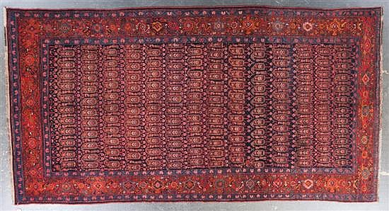 Antique Northwest Persian rug, Persia, circa 1920, approx. 7.1 x 13.4