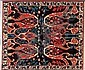 Turkish Azeri Rug, Turkey, Circa 1995, 6'x7'
