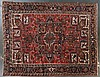 Semi-antique Herez carpet, approx. 9.7 x 12