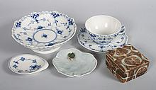 12 Royal Copenhagen porcelain tableware