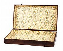 Portable wooden paint box, owned by Edward Sachse