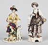 Two Hochst German porcelain figures