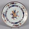 Chinese Imari porcelain plate