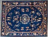 Antique Nichols Chinese carpet, approx. 9 x 12