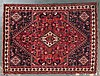 Shiraz rug, approx. 5.11 x 8.1