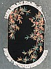 Antique Fetti oval rug, approx. 3.1 x 5