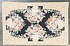 Chain stitched rug, approx. 5.10 x 8.10