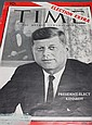 [Autograph: Presidential] John F. Kennedy (1917-'63, 35th President) signature and sentiment on cover of Time Magazine