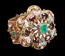 Austro-Hungarian Baroque style bracelet