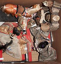 Assortment of oriental dolls