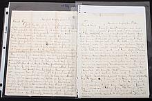 [Civil War] Two Union soldier's letters