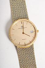 Gentleman's Christian Bernard 18K gold wrist watch