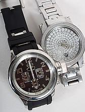 Gentleman's Invicta watch & Techno-Master watch