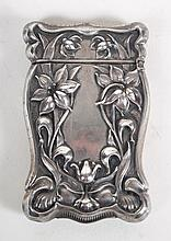 American sterling silver match safe