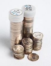 One hundred twenty Jefferson type silver alloy