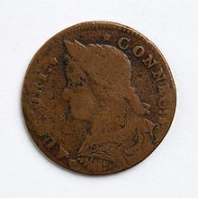 Connecticut copper cent, 1787