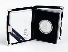 U.S. American Eagle Platinum Proof Coin, 2004-W