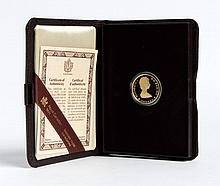 Canada National Parks Centennial gold $100, 1985