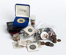 Assortment of rare United States coins