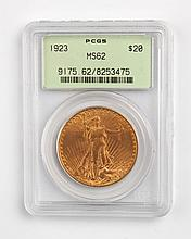 United States gold double eagle ($20), 1923