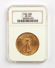 United States gold double eagle ($20), 1924