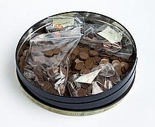 About 1450 U.S. Lincoln/Wheat type bronze cents