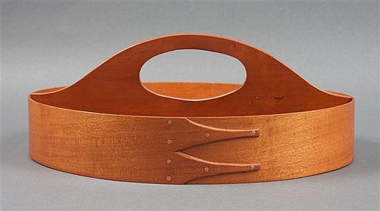 Shaker style cherrywood cutlery tray