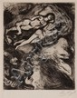 Marc Chagall, Russian/French, 1887-1985, Plate #56 from