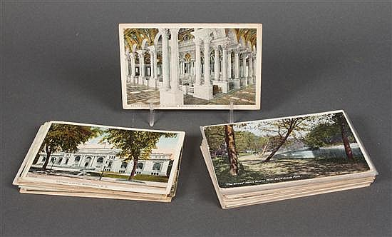 [Postcards] Selection of nearly 100 items, mostly Washington DC and vicinity