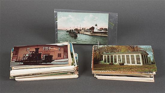 [Postcards] Selection of about 150 cards, most unused, of Baltimore and vicinity