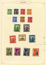 1936-66 fine M collection on leaves incl. 1936 set